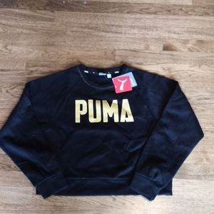 Puma Athletics Crew Sweat Fl Superdry XS NWT